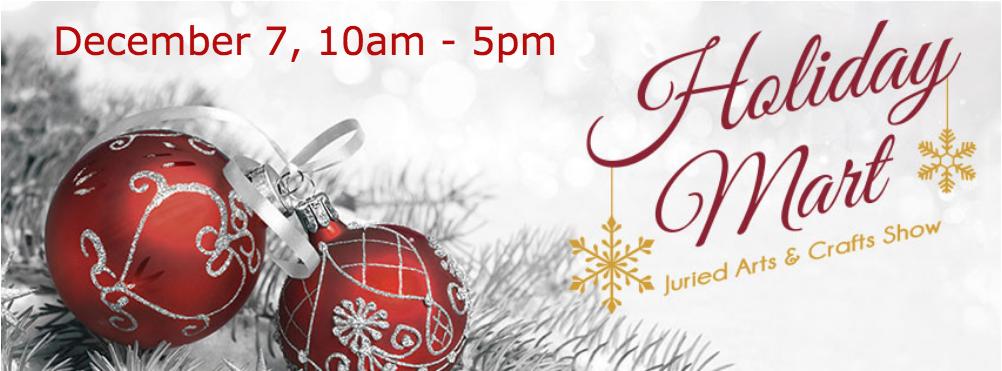 Howard County Holiday Mart, Saturday, December 7, 10am - 5pm