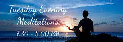 Photo of meditation at sunset