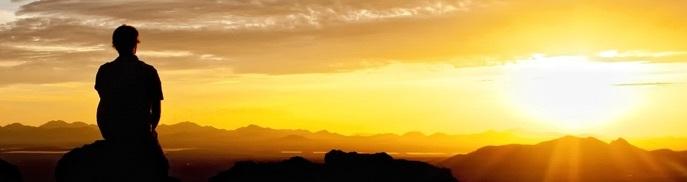 Photo of meditation at dawn...